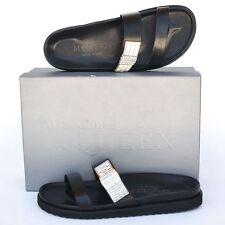 Alexander McQueen New sz 39 - 9 Womens Designer Flats Shoes Slides Sandals