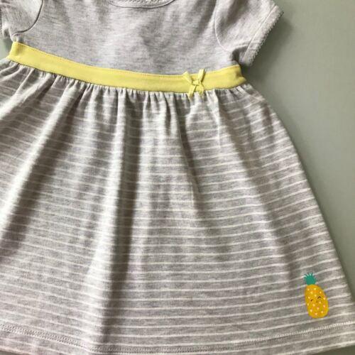 Chica vestido vestido de 1 o 2-compartir la fruta algodón 100/% algodón orgánico del bebé
