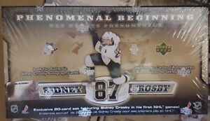 SIDNEY-CROSBY-Rookie-Set-Upper-Deck-Phenomenal-Beginnings-20-RCs-Possible-Auto