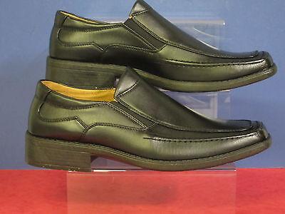 Maverick Para Hombre casual/smart Negro Slip On Zapatos Estilo a1042 un gran precio £ 12.99