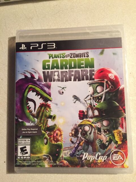 Plants vs Zombies warfare PS3 game