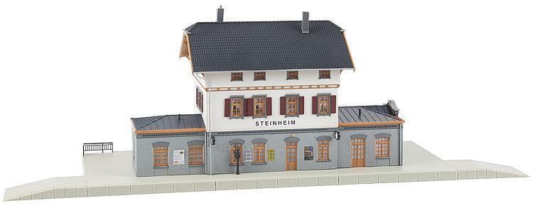 Faller 110112 HO Stazione ferroviaria pietra casa  neu in OVP