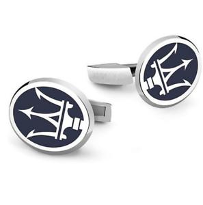 Maserati-Cufflinks-Men-Car-Logo-Shirts-Casual-Party-Wear-Accessories-Gift-New