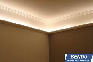 Details zu 23,6m LED Lichtprofile Leiste indirekte Beleuchtung indirektes  Licht Decke Stuck