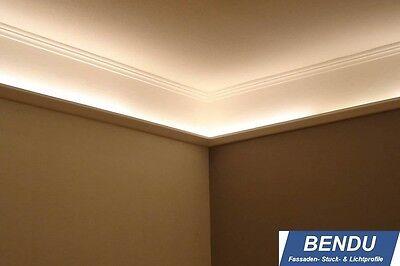 23,6m LED Lichtprofile Leiste indirekte Beleuchtung indirektes Licht Decke Stuck | eBay