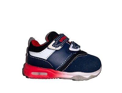 PRIMIGI 4461633 scarpe sneakers bimbo primi passi blu LUCI A LED
