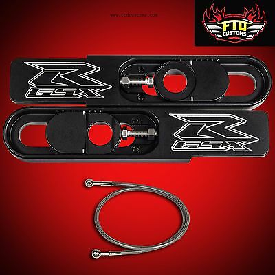2006 GSX-R 1000 Swingarm Extensions kit Chain,Brake Line Swing Arm Extension