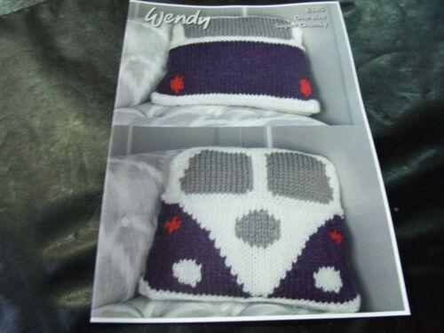 Wendy Super Chunky One Size Camper Van Cushion Pattern  6105