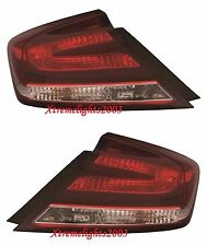 HONDA CIVIC COUPE 2014-2015 TAILLIGHTS TAIL LIGHT REAR LAMPS PAIR SET W/BULBS