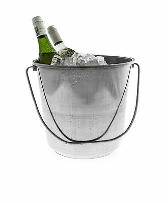 Stainless Steel Ice Bucket, Wine, Beer and Champagne Cooler (12L)