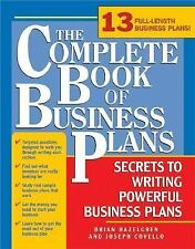 The Complete Book of Business Plans, 2nd edition: Simple Steps to Writing Powerf