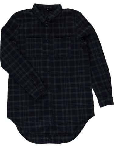 Mane It A 13133609 Mod Eloa Lunga Manica Quadri Camicia fqnqw1dx5