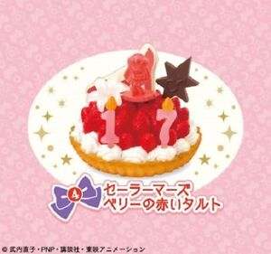 Re-ment Sailor Moon Crystal Mini Birthday Cake Party Set #04
