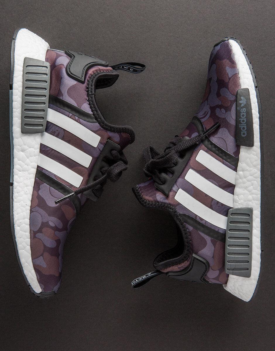 Adidas NMD R1 x Bape Camo negro gris ba7325 de reduccion de ba7325 precio recepción limitada 350 09dd10