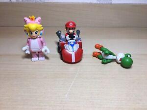 Mario Gaming Figure Bundle - Yoshi, Mario & Princess Assorted Toys Nintendo