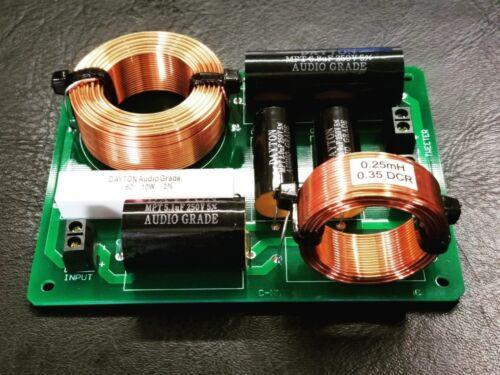 Crossover PCBs for C-note MT Bookshelf DIY Speaker