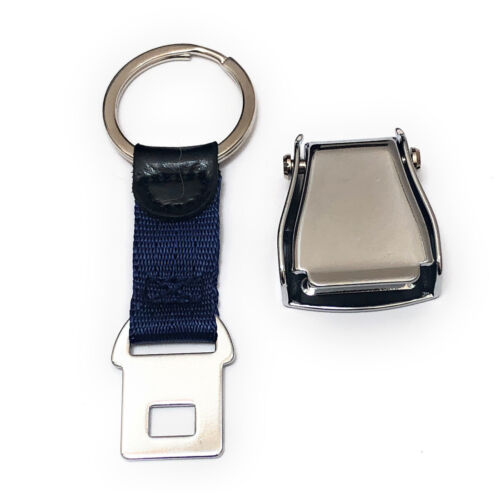 aviamart® Keyring Shiny Airplane Seat Belt Buckle Keychain High Quality
