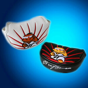 Karate-Magnet-Golf-Halfmallet-Mid-Mallet-Putter-Cover-Headcover-For-All-Brand