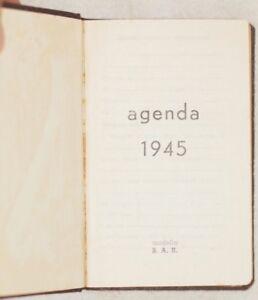 AGENDA-1945-RUBRICA-TELEFONICA-APPUNTI-PRO-MEMORIA-POSTE-BANCA