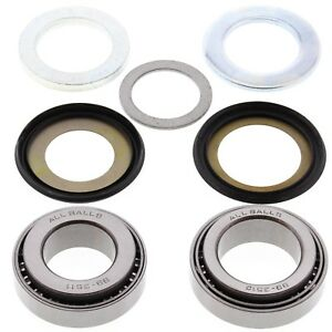 Details about All Balls Motorcycle Tapered Steering Head Bearing Kit / Set  22-1011