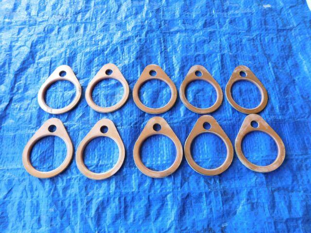 Harley Shovelhead Exhaust Gaskets Copper Flange 1966-83 Shovelehead USA
