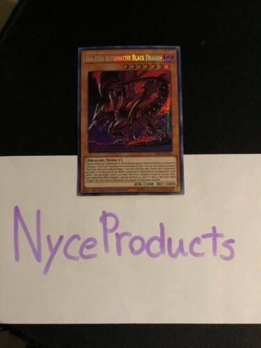 Red-Eyes Alternative Black Dragon TN19-EN005 Prismatic Secret Rare NM