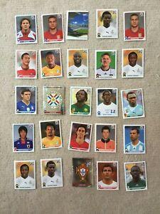 Konvolut-Panini-Sticker-Fussbal-WM-2010-25-Stueck-VI
