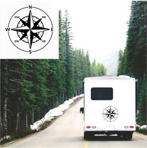 Compass-Sticker-Caravan-Motorhome-Camper-Horsebox-4X4-Truck-Car-Decal