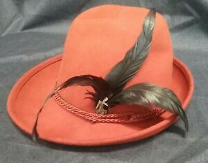 1fd9ff82f Details about FILIPPO CATARZI WOMEN'S HAT Wool NWT Made in Florence Italy