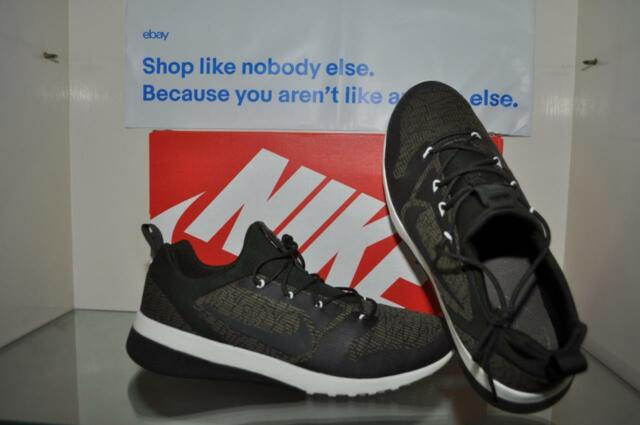 100% authentic 414e9 60906 Nike Men s CK Racer Running Shoe Olive Green Black 916780 300 See Sizes NIB