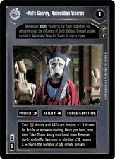 Nute Gunray, Neimoidian Viceroy [Mint/Near Mint] THEED PALACE star wars ccg