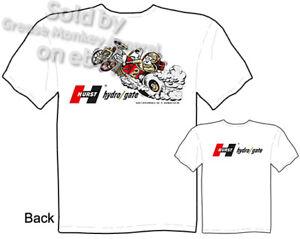 Hydro-Gate-Hurst-T-Shirt-Muscle-Car-Clothing-Tee-Racing-Shirt-Sz-M-L-XL-2XL-3XL