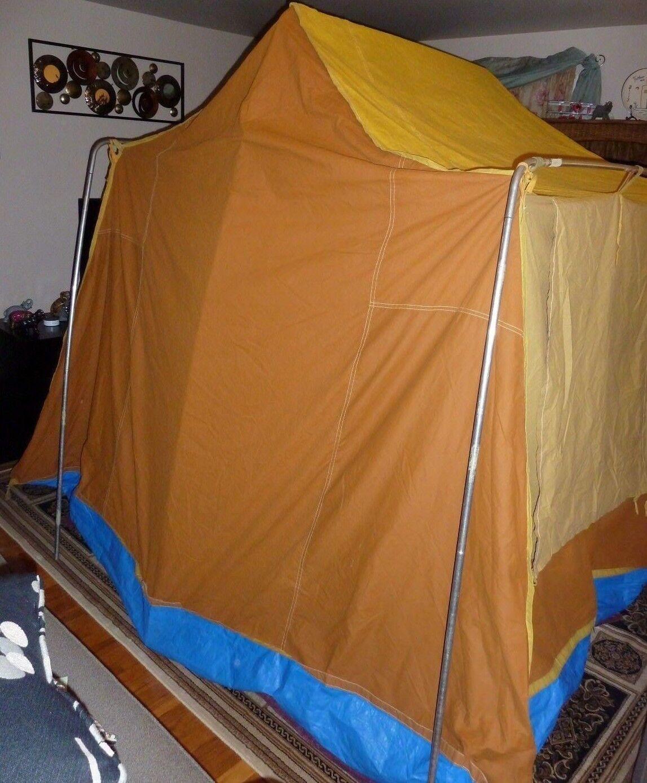 Outdoor Venture Corp Tent (70's   Canvas   Vintage)  8' x 10'
