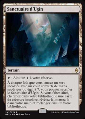 Mrm fr//vf sanctuary of ugin mtg magic bfz
