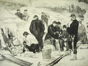 Auguste-Andre-Sand-Eel-War-Franco-Prussian-The-Bastion-84-Seat-de-Paris-1870