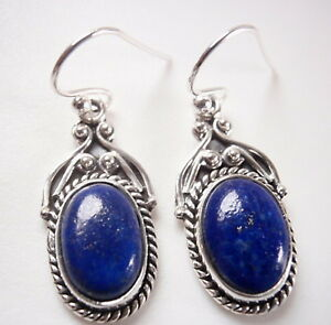 Lapis Lazuli Accented Oval 925 Sterling Silver Pendant