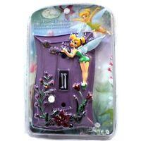 Disney Fairies Tinker Bell Hand Painted Wallplate Kids Bedroom Playroom 1938t