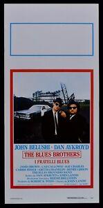 Plakat The Blues Brothers John Belushi Cab Calloway Landis Musik Poster N49