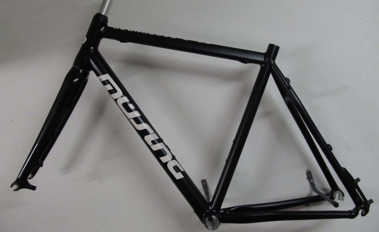 Müsing Crozzroad Disc Cyclo Cross Cyclocross Rahmenkit 54cm black matt 2018