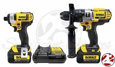 New DeWALT Hammerdrill DCK290L2 20V MAX Hammer Drill Impact Driver Combo Kit