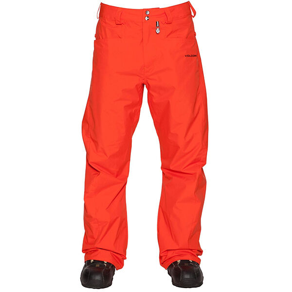 NEW   Volcom CARBON Snowboard PANTS   orange SIZE   XL   Extra Large