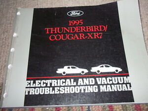 image is loading 1995-ford-thunderbird-mercury-cougar-xr-7-xr7-