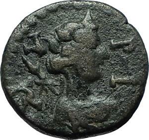 100BC-Authentic-Ancient-Genuine-Original-GREEK-City-Coin-w-DEITY-amp-SENATE-i66359