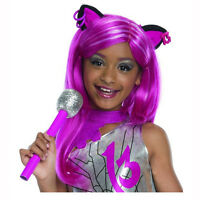 Monster High Catty Noir Child Costume Wig With Ears Rubies 52920