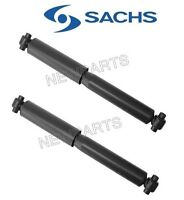 Volvo 740 745 760 940 Pair Set Of Rear Shock Absorbers Without Nivomat Sachs