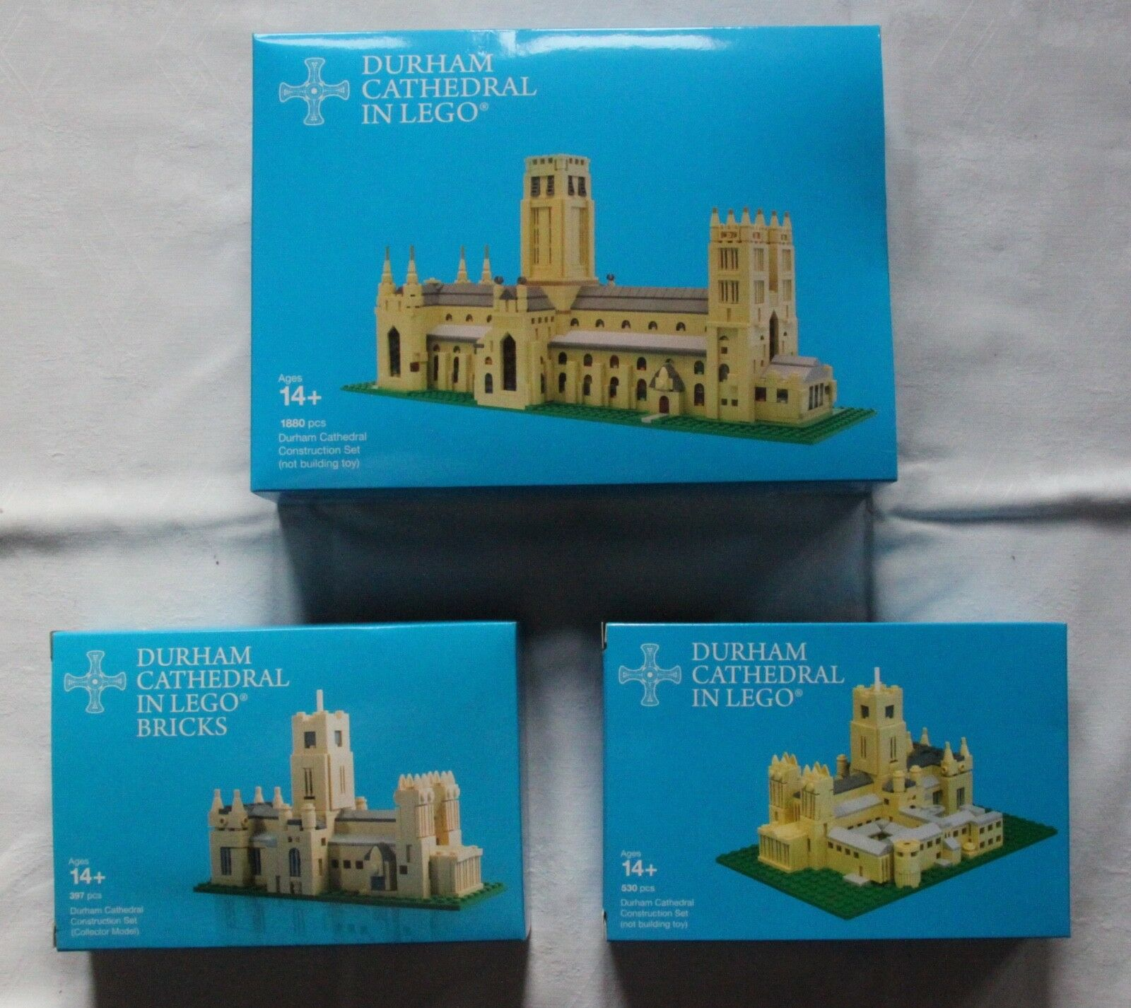 Durnham Cathedral en lego 3 ateur Certified Professional Limited Edition