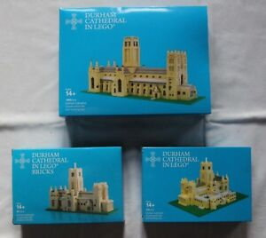 Durnham Cathedral In Lego 3 Builders Certifié Professional Limited Edition