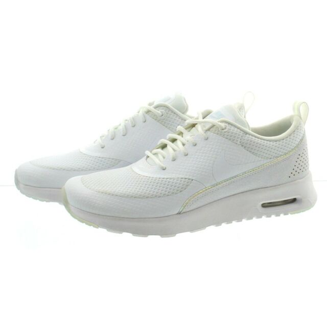 newest 8261a d5604 Nike WMNS Air Max Thea Premium Women Lifestyle SNEAKERS White Blue ...