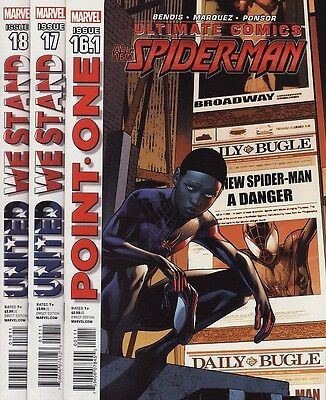 ULTIMATE COMICS: SPIDER-MAN #16.1,17,18,19,20-22 Marvel ...