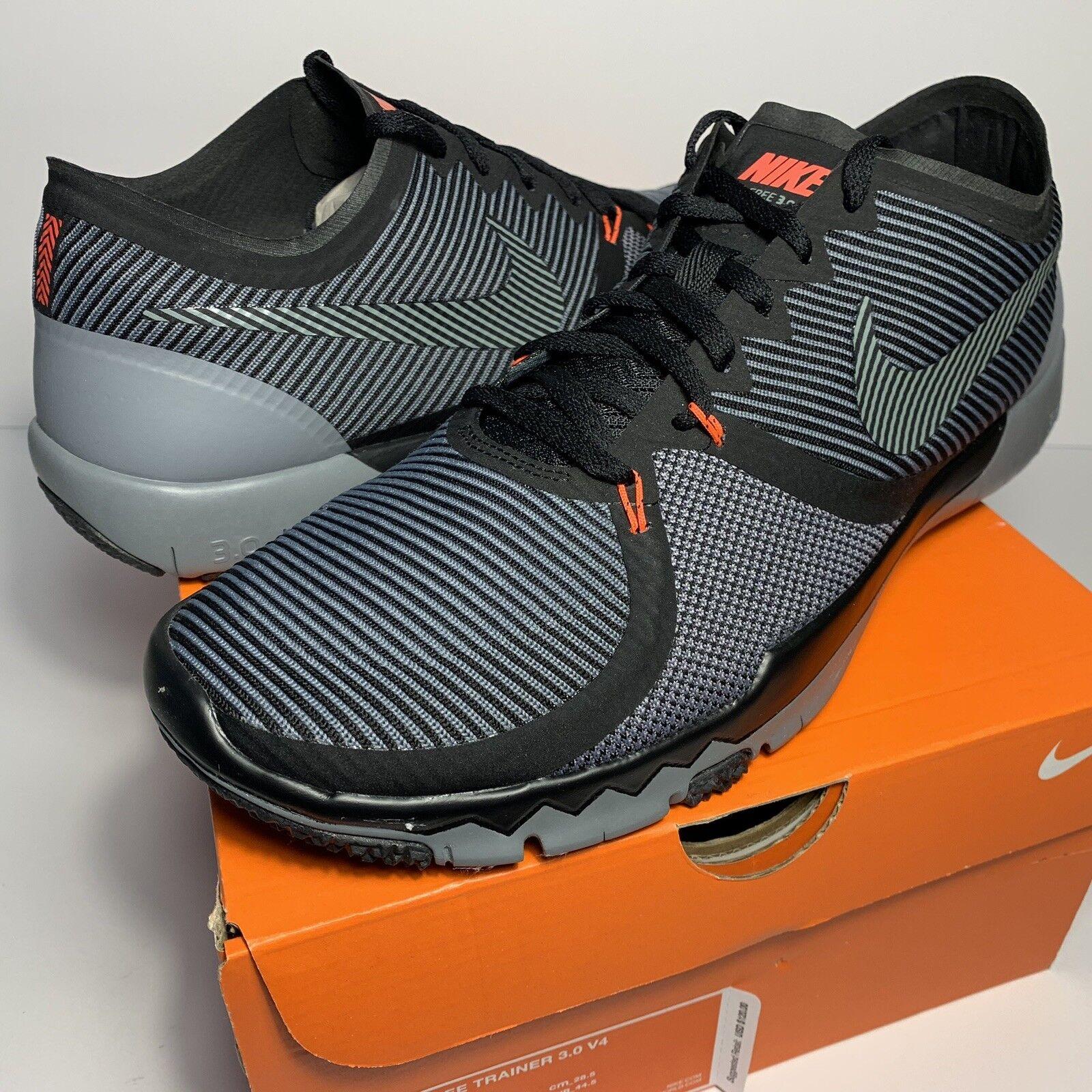 brand new 8e6e1 086be NEW RARE Nike Free Trainer 3.0 V4 749361-001 MEN 10.5 (10 1 2